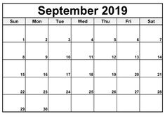We are bringing here September 2019 Calendar Blank PDF Word Excel Portrait Landscape formats. Also, Check free printable 2019 calendar templates and holidays Excel Calendar, Monthly Calendar Template, Printable Calendar Template, Online Calendar, Kids Calendar, 2019 Calendar, Monthly Calendars, Moon Calendar