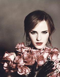 """lovefromwatson: """" Emma Watson for Lancôme 'In Love'. """""""