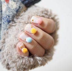 Forget washing your hands — how in all that is holy do you eat a bag of Cheetos? | This New Pom-Pom Nail Trend Is Definitely Out Of Hand