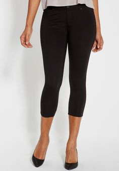 the smart skinny ponte capri (original price, $34.00) available at #Maurices