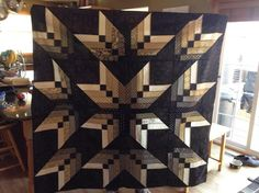 MSQC binding tool star quilt UNBELIEVABLE! these stars jump right off the quilt!! xx