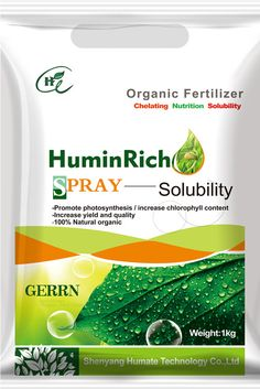 HuminRich Fulvic Acids Potassium Humate Fertilizer Package