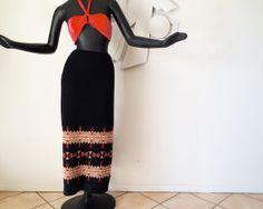 Genuine PENDLETON Skirt Sweater Knit Native by elliemayhems, $79.00