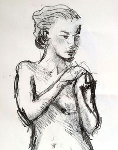 monotype - Soft Girl by Judy Watson