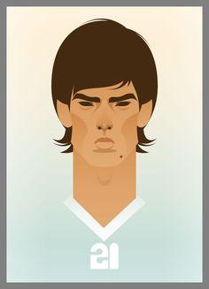 Graphics of Football Player.