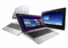 The ASUS Transformer Book Trio is the first 3-in-1, 11.6-inch dual OS Windows 8/Android hybrid laptop with a dock powered by a 4th generation Intel® Core™ i7 processor. The tablet features an Intel® Atom™ processor and a 1920 x 1080 IPS display.