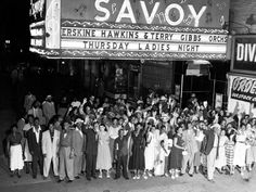 The Savoy Ballroom, Harlem. - Photo © Bettmann/Corbis