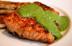Italian Food Forever » Salmon With Green Sauce