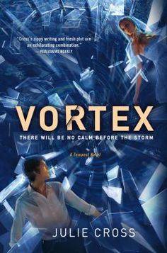 Vortex by Julie Cross. Sequel to Tempest. Despite his heartbreak at losing the love of his life, Holly, 19-year-old Jackson throws himself into his role as an agent to Tempest, the shadowy division of the CIA that handles all time-travel-related threats, but Eyewall, an opposing division of the CIA, puts the lives of both Jackson and Holly at risk again.