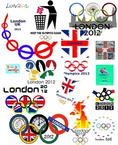 A collection of #London #Olympics logos from @gwatson