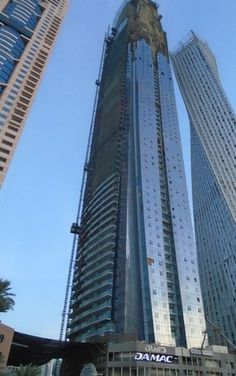 New arrival in Dubai Marina tops out in UAE's 10 tallest residential towers