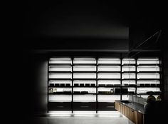 Interior by Madeleine Elliott Concept Studio Stockholm New York Los Angeles Hawaii Boffi bathroom Programma Standard brompton Storage Shelves, Shelving, Boffi, Brompton, Design System, Amazing Bathrooms, Modern Bathroom, Blinds, Kitchen Design