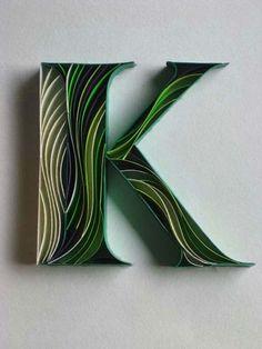 Arte de Papel #K