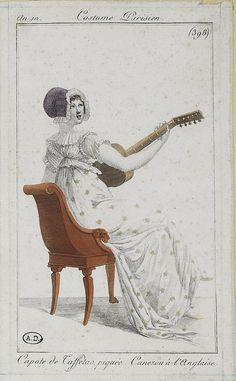 Via Flickr. Costume Parisien ca. 1802
