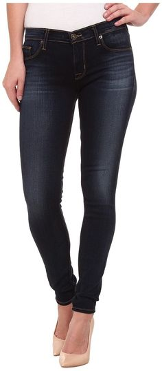 Hudson Krista Super Skinny Jeans in Baltic Luster (Baltic Luster) Women's Jeans - Hudson, Krista Super Skinny Jeans in Baltic Luster, W407DED-BLTL, Apparel Bottom Jeans, Jeans, Bottom, Apparel, Clothes Clothing, Gift, - Fashion Ideas To Inspire