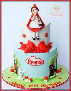 Little Red Riding Hood - Cake by Jo Finlayson (Jo Takes the Cake)
