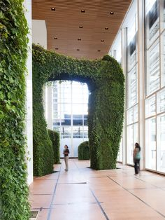 The Urban Garden Room is the first permanent installation of a living sculpture. The Durst Organization commissioned Margie Ruddick and WRT to create a winter garden for the Bank of America Tower, at One Bryant Park. Working with artist/sculptor Dorothy Ruddick, we created an immersive green environment that is designed to make you feel like you have stepped into the natural world of the city. You can walk through the space, among four sculptures that range in hieght from the 25-foot high…