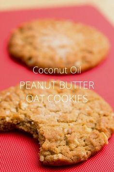 Coconut Oil Peanut Butter Cookies - click to find the recipe