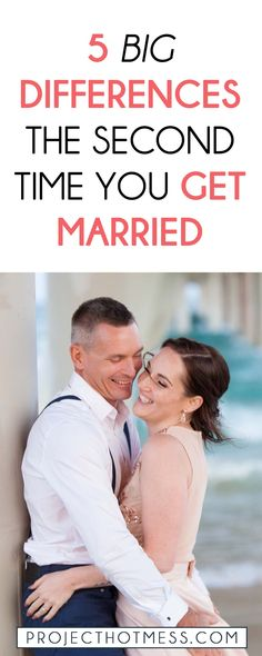 A successful marriage doesn't come easily but when it's the second time you get married there are a lot of differences to the way you approach your marriage. Relationships | Marriage | Partner | Marriage Advice | Marriage Goals | In Love | Love | Marriage Problems | Spice Up Your Marriage | Marriage Ideas | Happy Marriage | Relationship Goals | Relationship Advice | Relationship Tips | Relationship Problems |