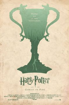 """Harry Potter and the Goblet of Fire"" Fan Made Film Poster /// by Adam Rabalais"