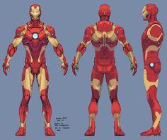 iron man armor model 37 / bleeding edge armor by tigr3ss.deviantart.com on @DeviantArt