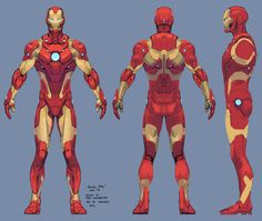iron man armor model 37 / bleeding edge armor by tigr3ss.deviantart.com on @DeviantArt