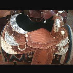 Gorgeous horse saddle