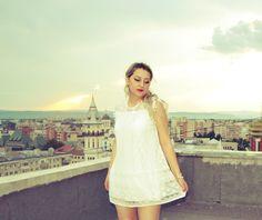 Kaiyo.Aino.Blog: OOTD: My Summer Little White Dress Little White Dresses, Ootd, Summer, Blog, Outfits, Fashion, Moda, Summer Time, Suits
