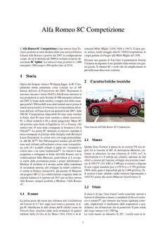 8C Alfa Romeo 8c, Top Gear, Classic Cars, Cutaway, Vintage Classic Cars, Classic Trucks