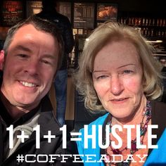 Today Rhoda Israelov and I talked about how Copywriters hustle for My CoffeeADay Initiative: 1 Coffee, 1 Person, Every Day.  http://coffeeaday.net/post/111534395596/today-rhoda-israelov-and-i-talked-about-how