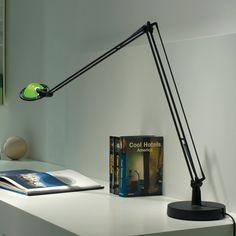 Berenice by Meda, Alberto, Rizzatto, Paolo - 1985 for Luceplan. Available at Catalog Ltd, Edinburgh. Desk, task lamp Task Lamps, Light Table, Catalog, Table Lamp, Lights, Design, Home Decor, Wax, Light Fixture