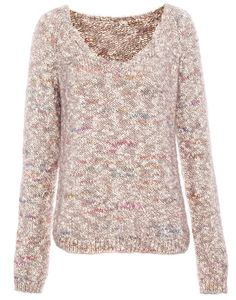PULL MULTICOLORE FOURRURE - MAILLE - FEMME - PULL&BEAR France