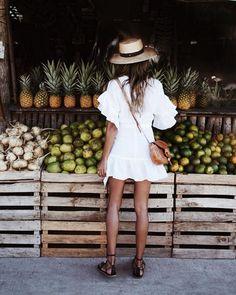 "JULIE SARIÑANA on Instagram: ""Mercado pit stop. 🍍"" • Instagram"
