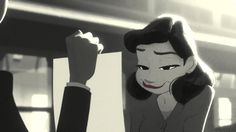Paperman - by John Kahrs released in 2012 - I kinda want a life like this, where I find whimsy wherever I go.