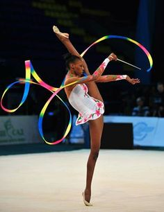 Grace Legote (RSA) Love this gymnast and her African dance inspired performance is en pointe!
