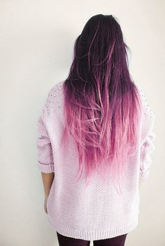 now this is an ombre
