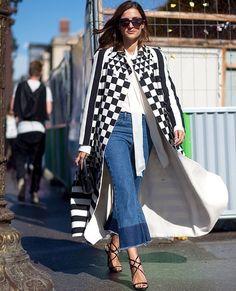 This coat ❤️ Harpers Bazaar