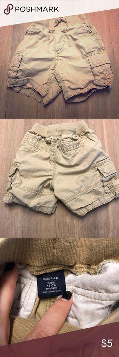 Baby Gap Boys Cargo Shorts, 18-24m Baby Gap Boys Cargo Shorts, 18-24m. Good condition. GAP Bottoms Shorts