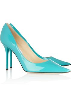 Jimmy Choo | Abel patent-leather pumps | NET-A-PORTER.COM ~so so bright