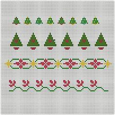 Free Christmas Cross Stitch Patterns - Free Christmas Patterns