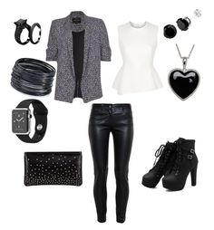 """""""Grown up metal"""" by mandylewis98 on Polyvore featuring ABS by Allen Schwartz, Lord & Taylor, River Island, Balenciaga, Alexander Wang and Christian Louboutin"""