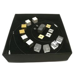 In this DIY kit you can choose from concrete, black concrete, brass, stainless steel, clear and matte resin cubes. Beside the cubes it contains a thinner pair of brass and stainless steel pieces as well. . . . #diykit #jewelryset #diyset #cubekit #cubeset #yourowndesign #yourownthoughts #yourmindset  #geometricdesign #geometriclove #mindtheminimal #necklacelove #braceletlove #earringlove #jewelrykit Jewelry Kits, Diy Kits, Cubes, Concrete, Resin, Brass, Stainless Steel, Earrings, Instagram