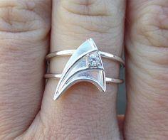 Star Trek engagement ring - now I've seen everything!