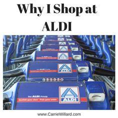 Why I Shop at ALDI #aldi #frugal #groceries