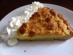 Kruimelvlaai (Pays Bas) tarte à la crème en crumble