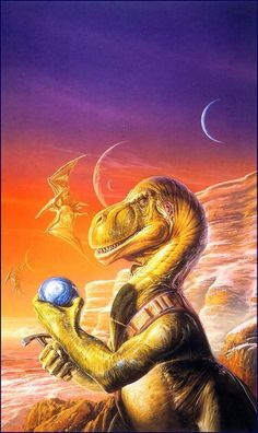 Bob Eggleton, Fossil Hunter by Robert J. Sawyer.