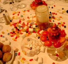 décor de table bonbon -