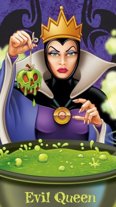 Evil Queen (Snow White & The Seven Dwarfs), # # Walt Disney, Cute Disney, Disney Magic, Dark Disney Art, Snow White Witch, Snow White Evil Queen, Evil Villains, Disney Villains, Reines Disney