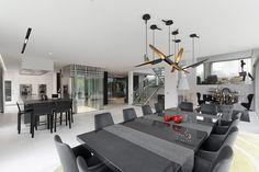 Smart Home Villa, Smart Home, Future House, Kitchen Dining, Conference Room, Henri, Service, Table, Furniture