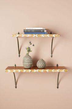 Slide View: 1: Marquetry Shelf